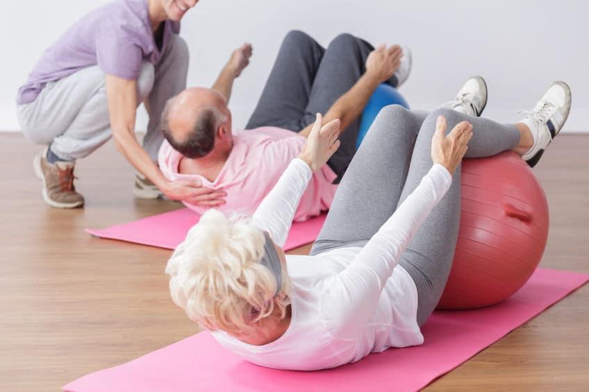פעילות גופנית וחברתית בגיל הזהב